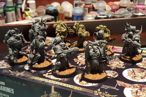 Plague Marines, 2nd squad, unprimed