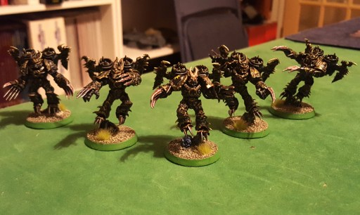 Warp Talons, completed