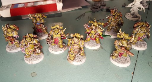 Plague Marines, second squad, highlights