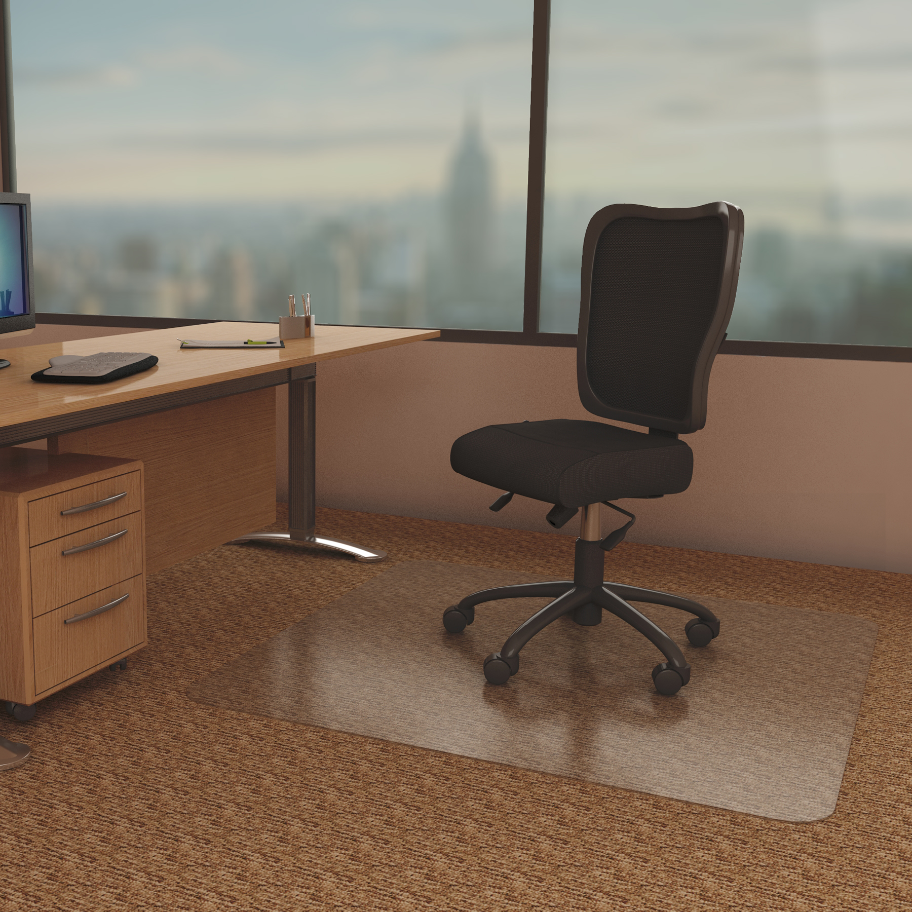 Anchormat 145 Best Chair Mat For Low Pile Carpet