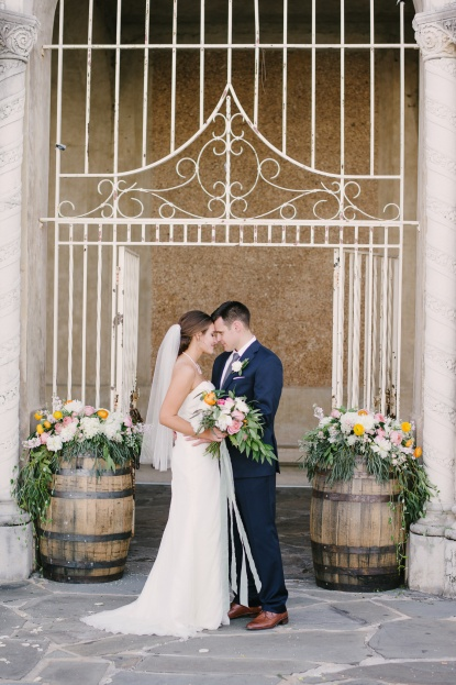 Lakeland Florida Breanna And Clifs Rustic Easter Wedding