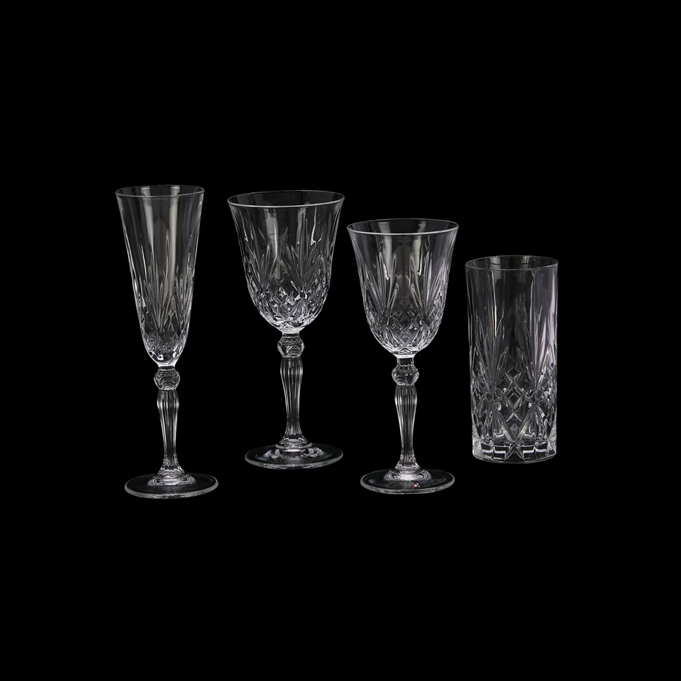 Grace Etched Glass Stemware A Chair Affair Inc