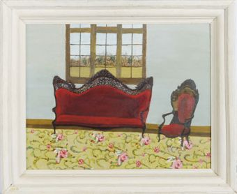 Henry Thomas Gulick Chair Painting