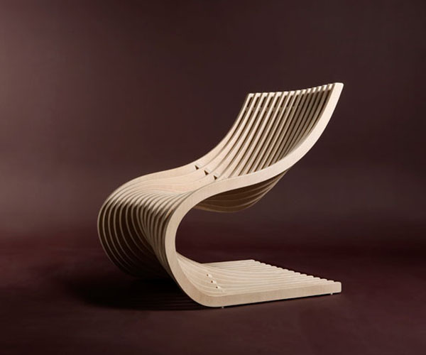 Double Section Chair by Piegatto 2