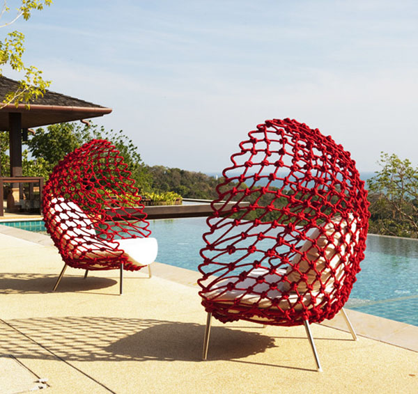 Dragnet Chair by Kenneth Cobonpue 1