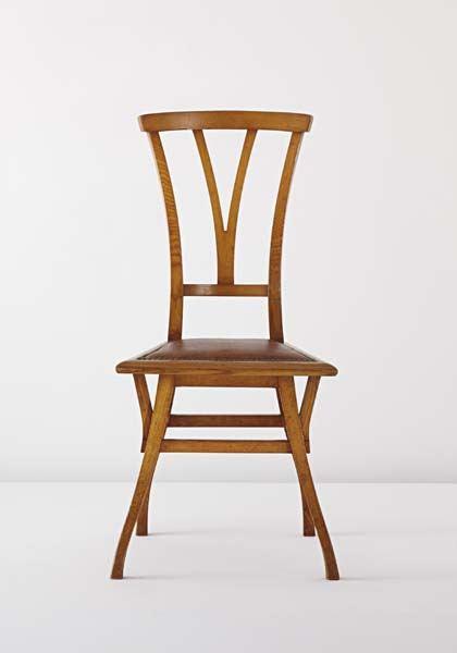Bloemenwerf Chair by Henry van de Velde