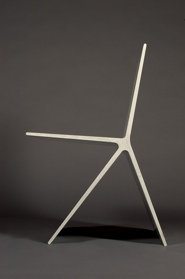 8.0 concrete chair by Omer Arbel