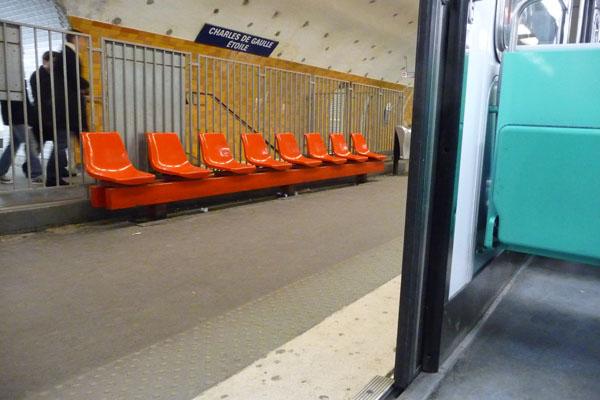 Metro Seats Paris P1030826