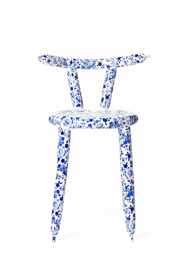Delft Blue Carbon Balloon Chair by Marcel Wanders