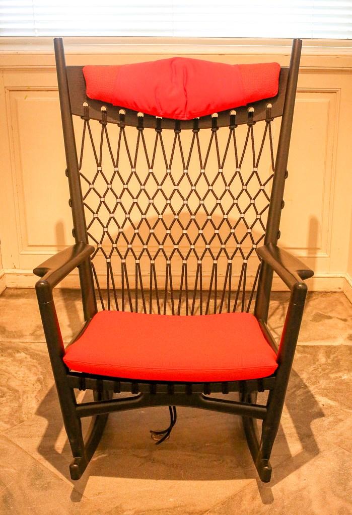 PP124 Rocking Chair by Hans Wegner