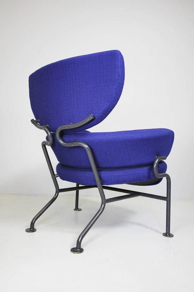Blue Tre Pezzi Armchair