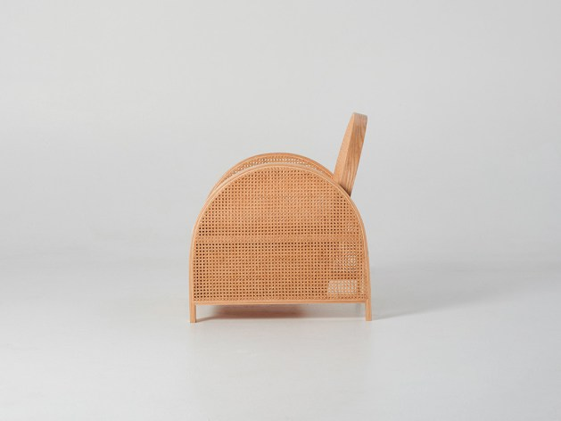 Arch Chair by Douglas and Bec side