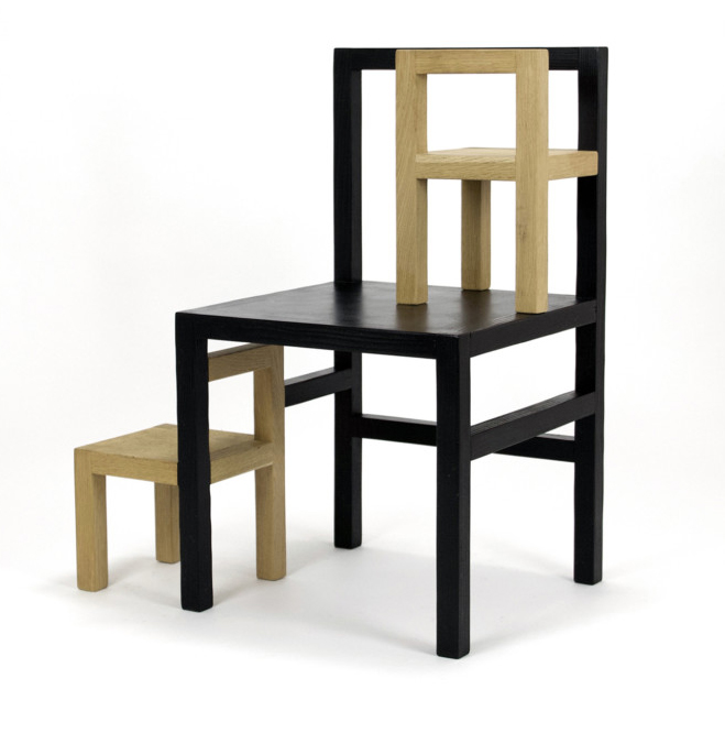 Father and Daughter Chair by Rasmus Baekkel Fex