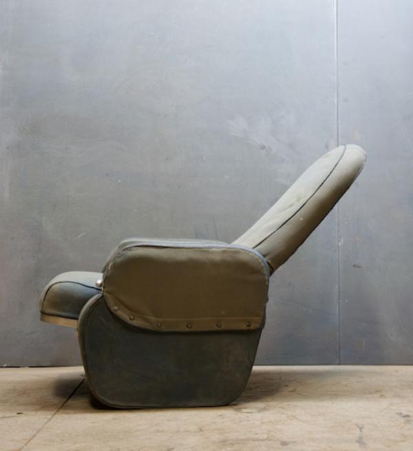 Vintage Airplane Seat by Warren McArthur