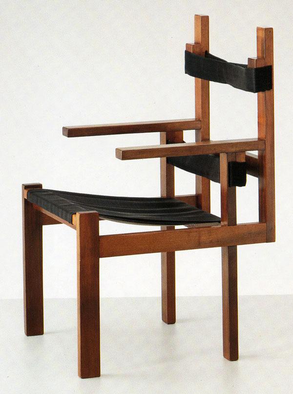 Early Slatted Marcel Breuer Chair