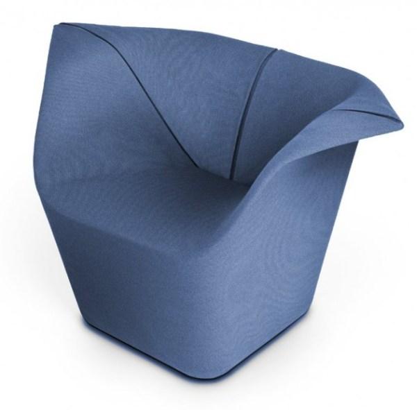 Garment Chair by Benjamin Hubert side