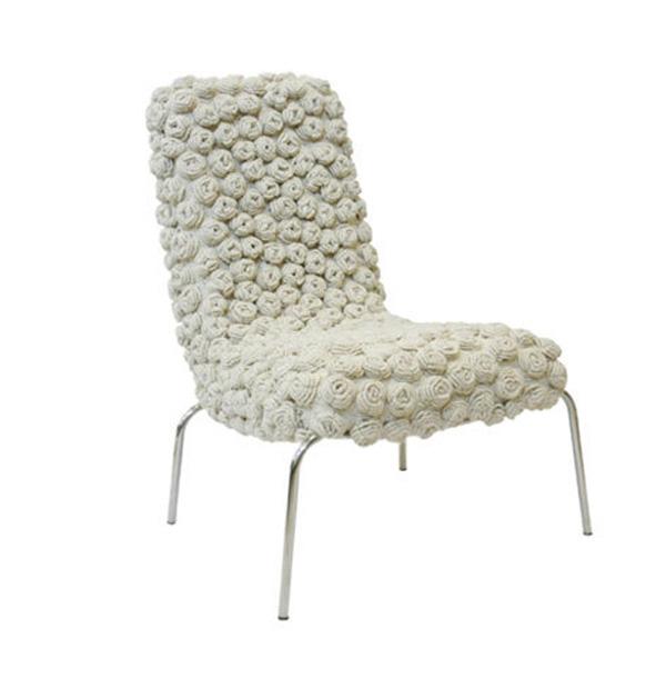 Knitted Chairs by Eulália de Souza Anselmo