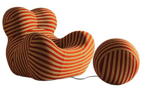 Knitting Chair Donna by Gaetano Pesce