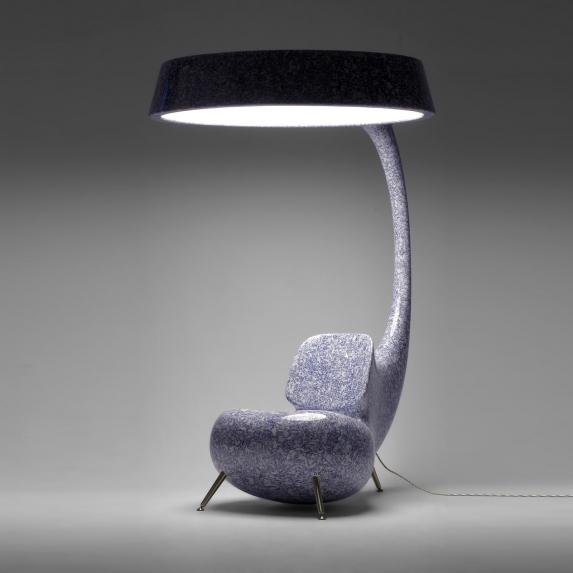 Light Up - Anglerfish inspired Chair Half view