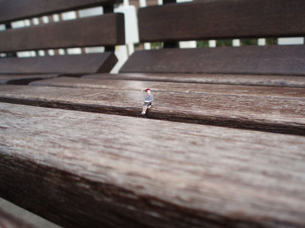 Little People and Metro Station Seatings