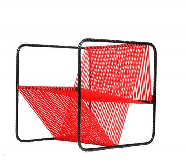 M100 Chair by Matías Ruiz Front View