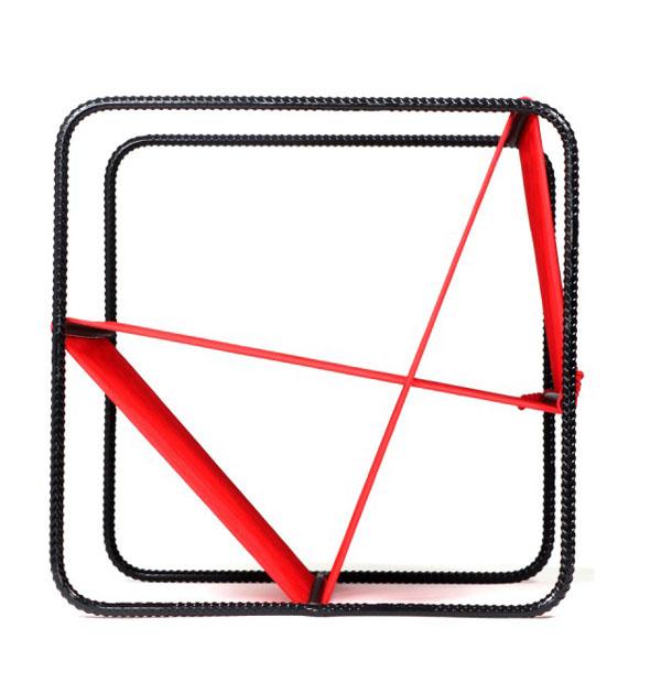 M100 Chair by Matías Ruiz Side View