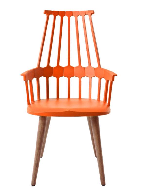 Orange-Comback-Chair-by-Patricia-Urquiola