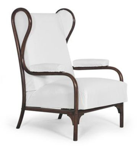 rare wing chair no gebrder thonet