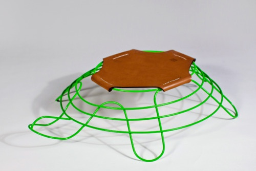 Turtle Turtle Chair by Cory Grosser