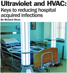 Ultravoilet & HVAC Image: Keys to reducing hospital acquired infection