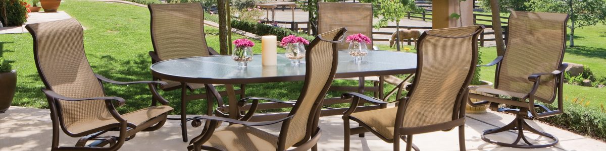 outdoor patio furniture restoration and