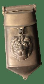 1940s Georgian Bronze Lion Mailbox Chairish