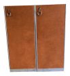 Guido Faleschini For Hermes Leather Wardrobe Cabinets A Pair Chairish