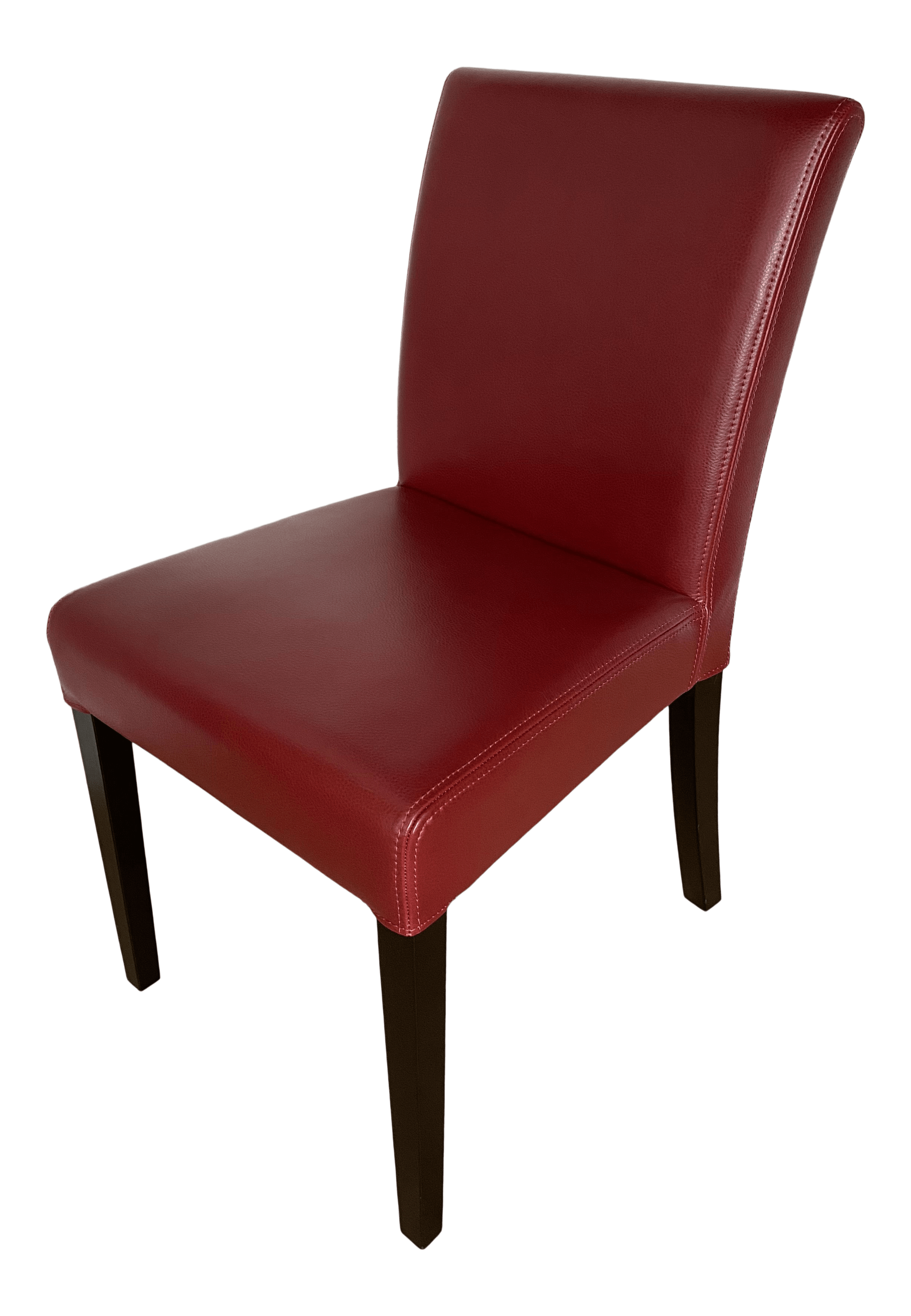 Crate Barrel Leather Dining Chairs Set Of 6 Chairish