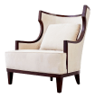Precedent Modern Wingback Chair Chairish