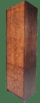 Mid Century Burl Wood Linen Cabinet By Century Furniture Chairish