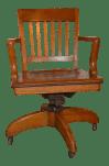 1930s Wh Gunlocke Co Banker S Chair