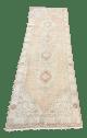 Turkish Oushak Antique Floor Hallway Runner Rug 6 7 9 1