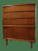 Mid Century Danish Modern Bassett Tempo Walnut Curved Tall Chest Dresser Chairish