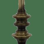 Mid Century Modern Solid Brass Table Lamp By Stiffel Chairish