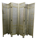 James Mont Style Asian Inspired 6 Panel Screen Room Divider Chairish