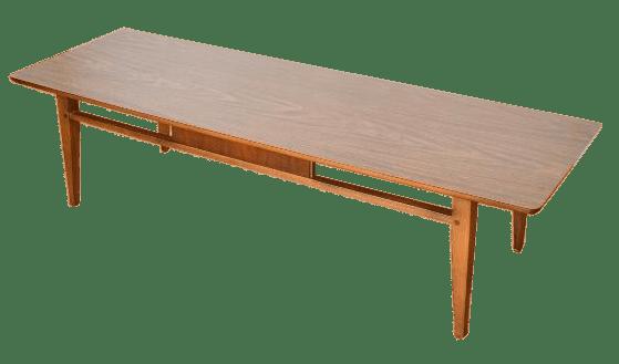 mid century vintage lane coffee table