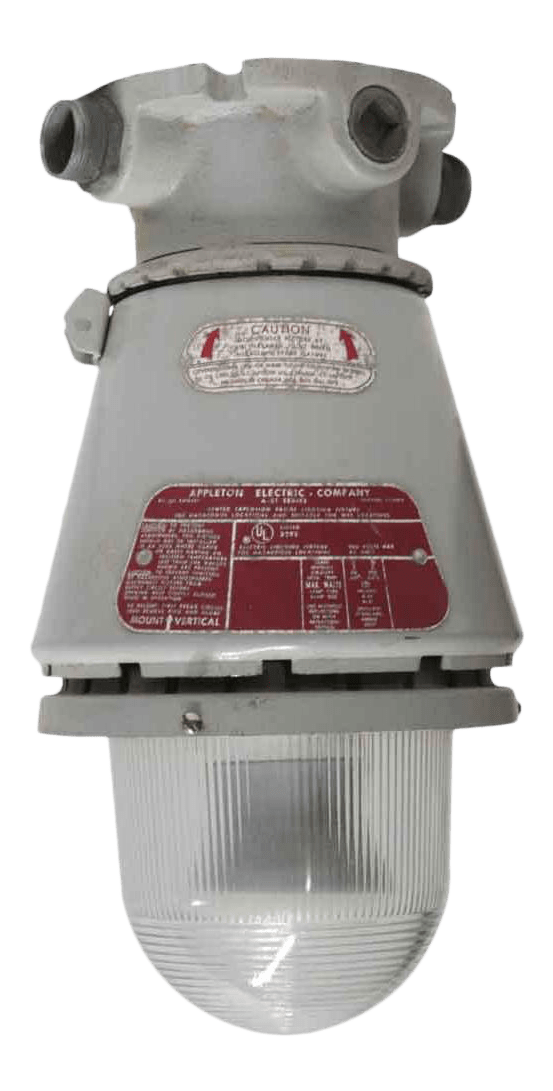 appleton a 51 series industrial explosion proof ceiling light