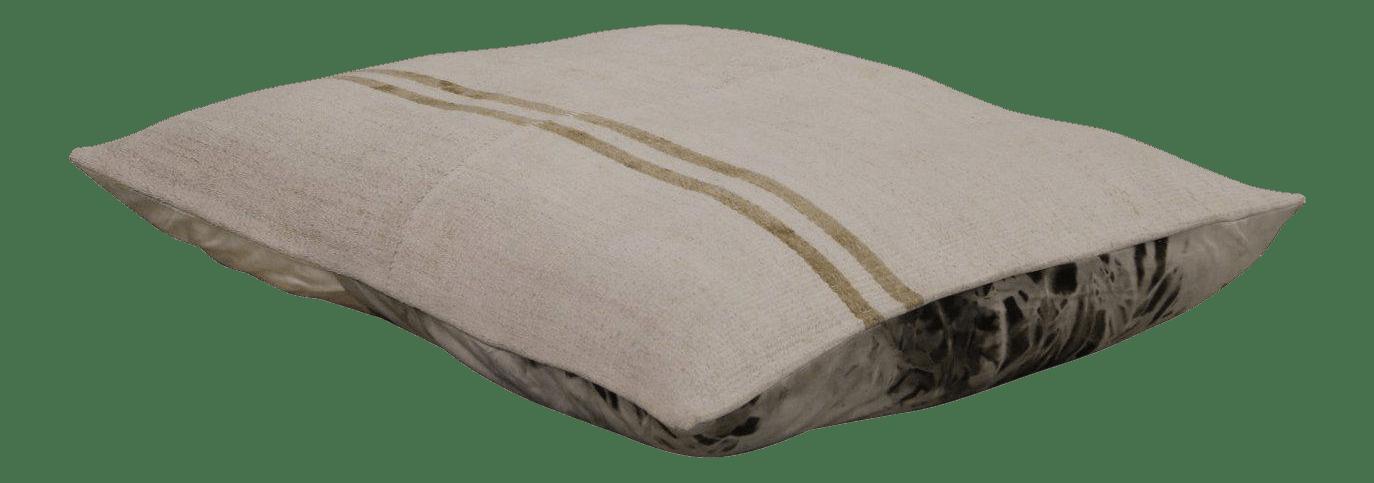 modern kilim floor pillow