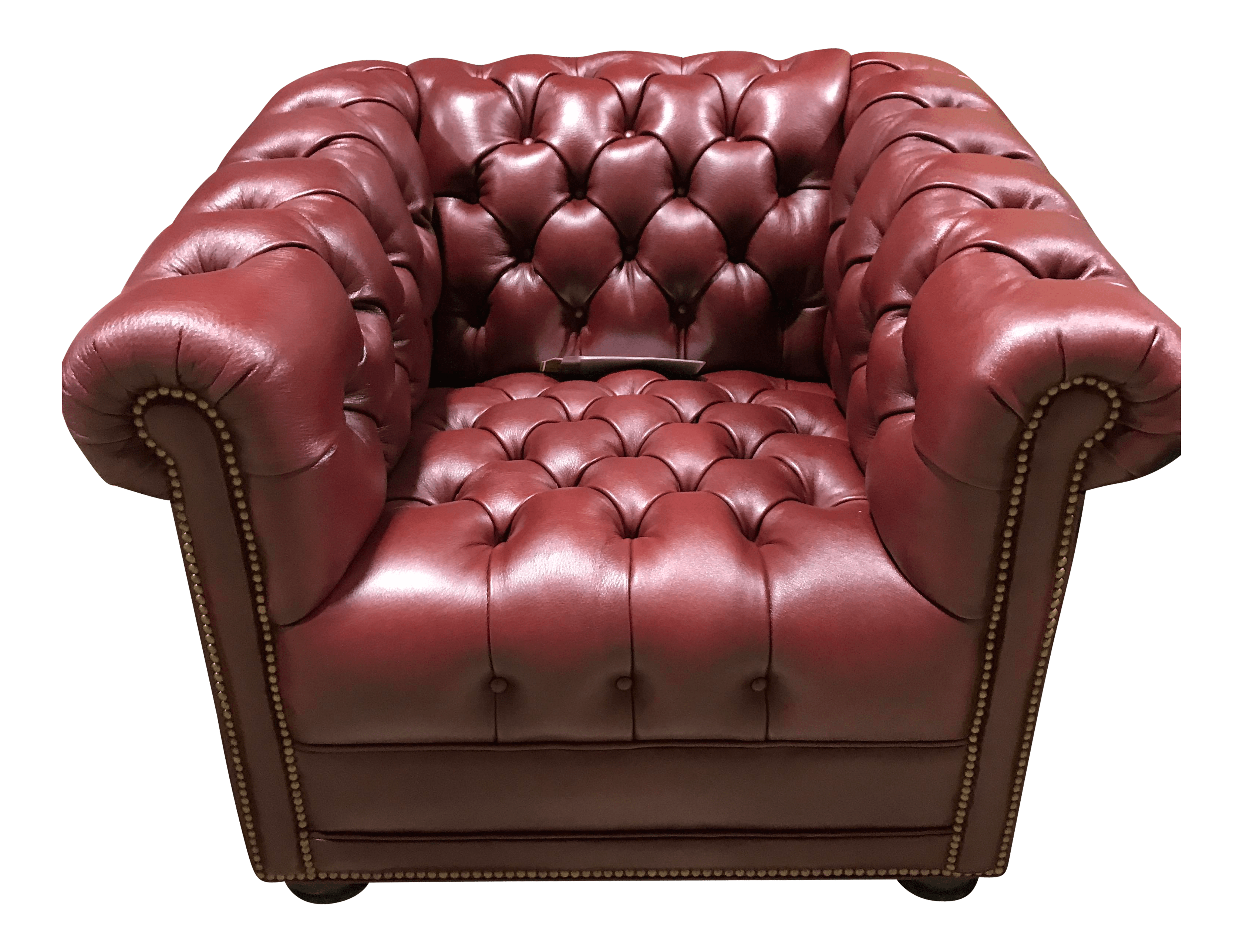 Brand New Hancock And Moore Chesterfield Leather Tufted
