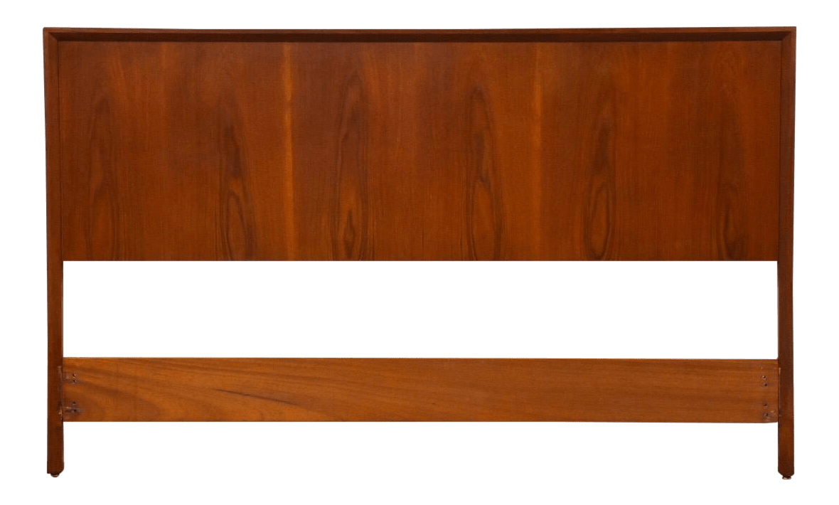 Danish Modern Teak Queen Headboard Chairish