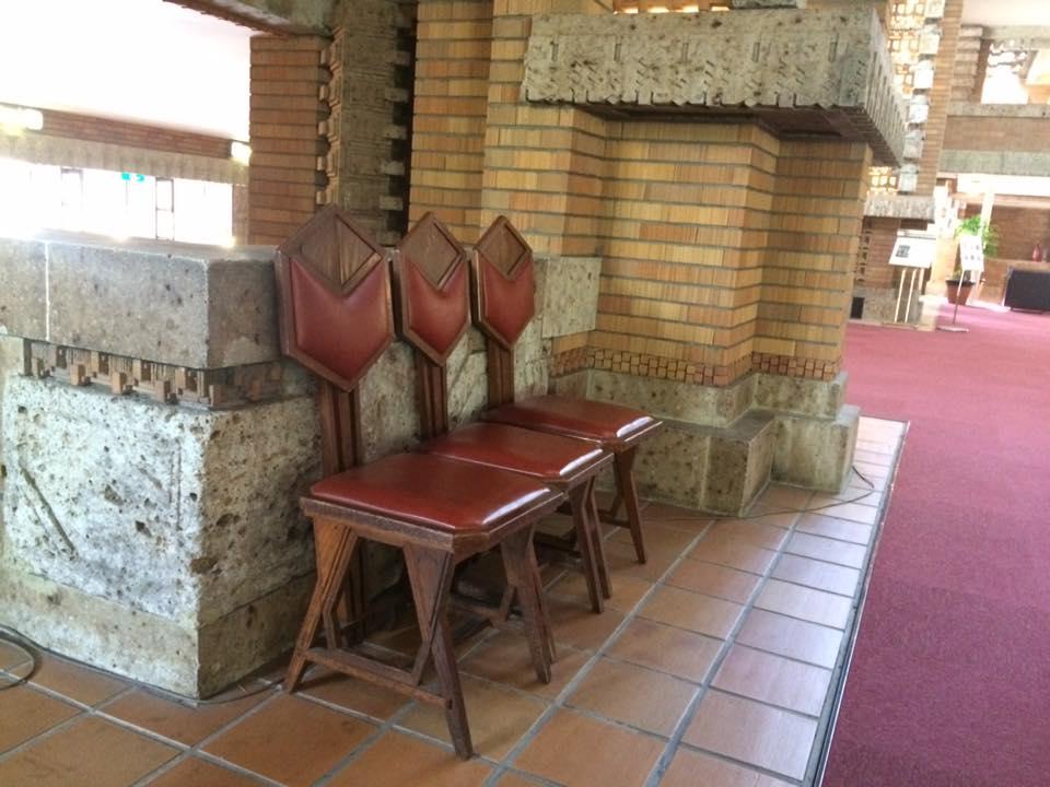 帝国ホテルの椅子