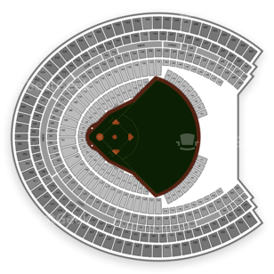 Olympic Stadium Montreal Stade Olympique Seating Chart Seatgeek