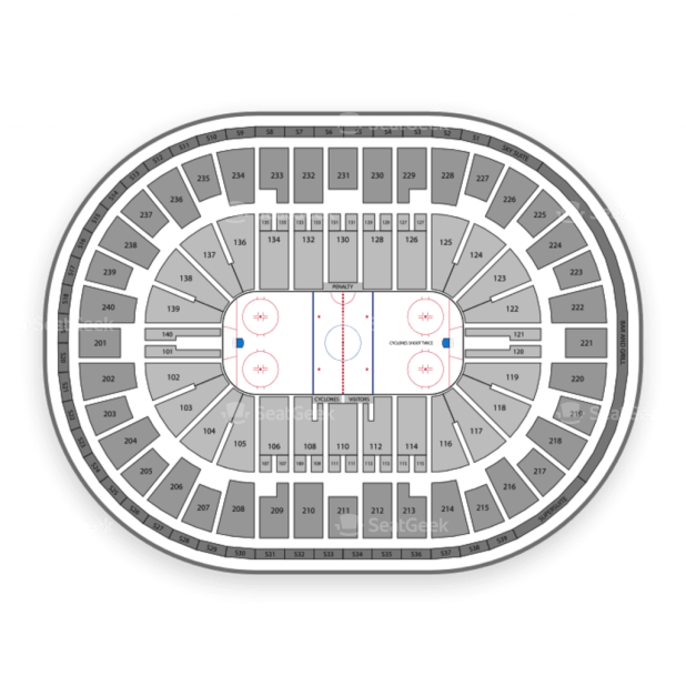 Us Bank Arena Seating Chart With Seat Numbers Brokeasshomecom - Us bank arena seat map