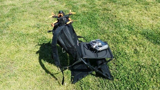 chair-pak drone